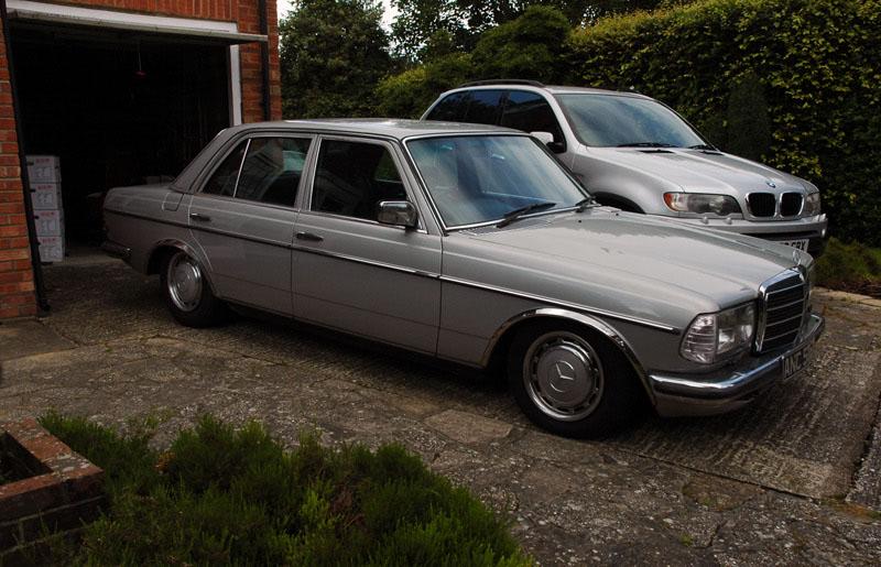1982 W123 280e 900 West Sussex Retro Rides